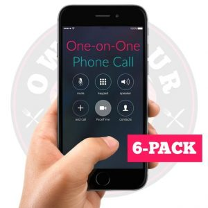 One-on-One Call - 6 Pack