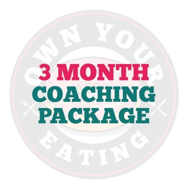 3 Month Macro Coaching Package