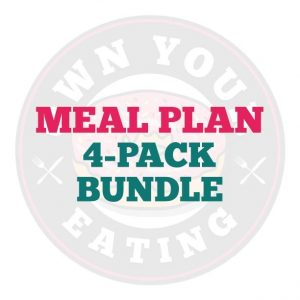 Meal Plan Bundle - 4 pack