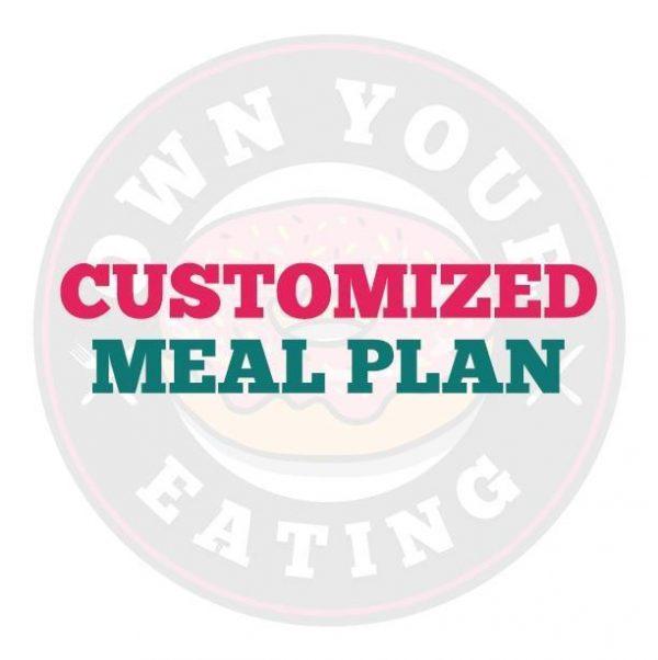Customized Meal Plan - 7 Days