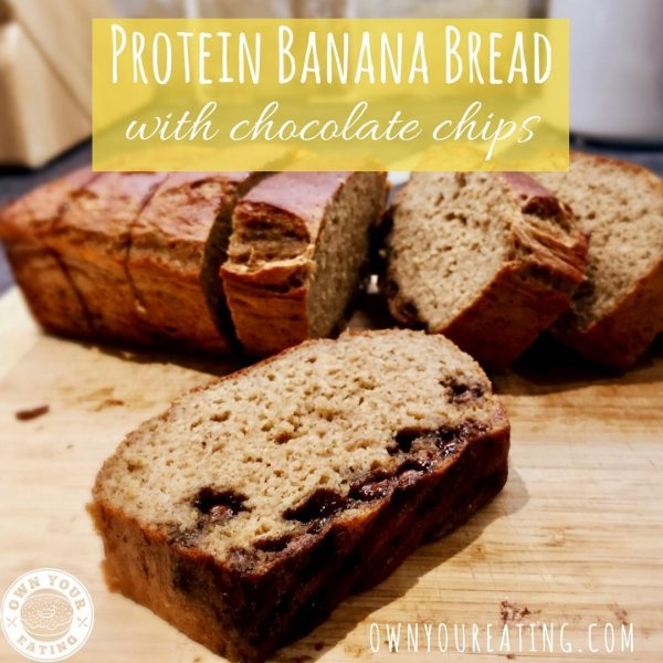 Protein Banana Bread with Chocolate Chips [Recipe]