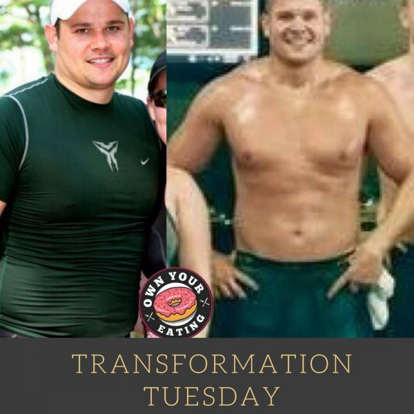 Transformation Tuesday – Justin Haydock
