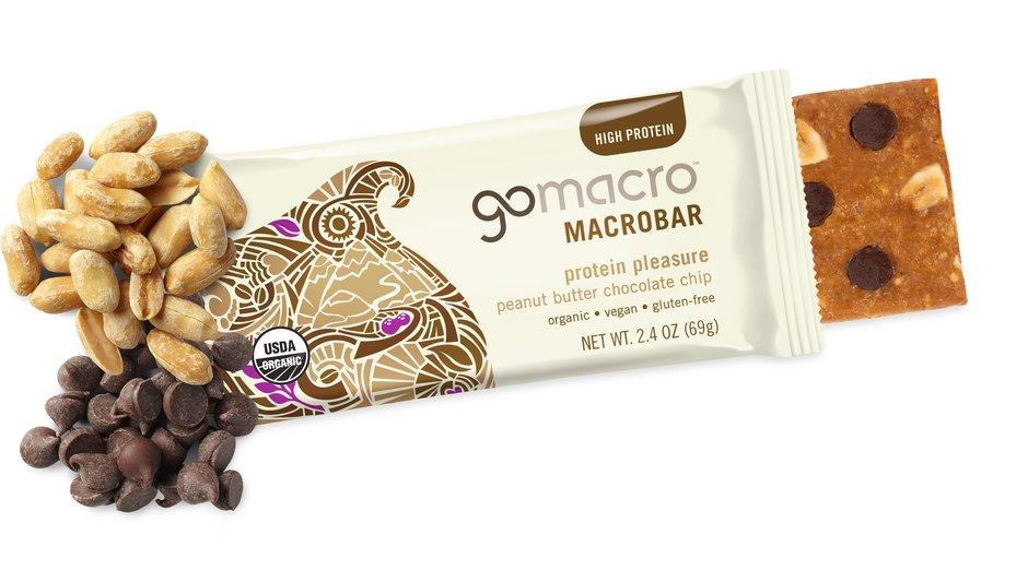 Macrobar peanut butter chocolate chip