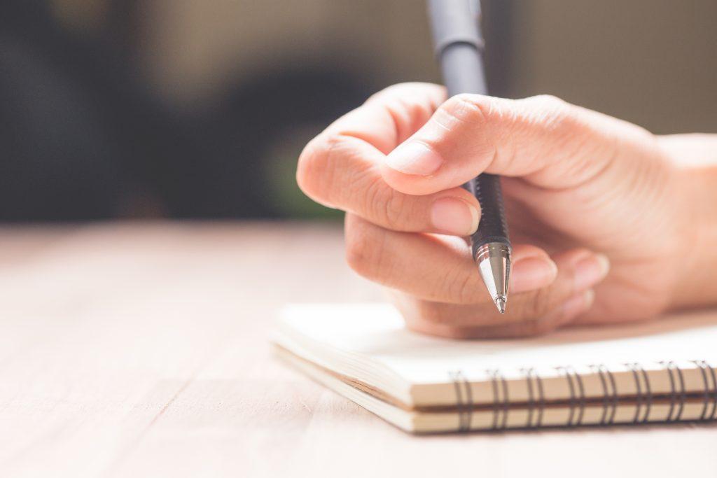 journaling habits