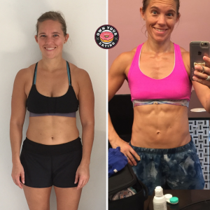 Alison Thiede side-by-side transformation