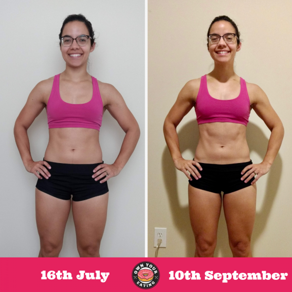 Patty Galicki – 2 Month Progress