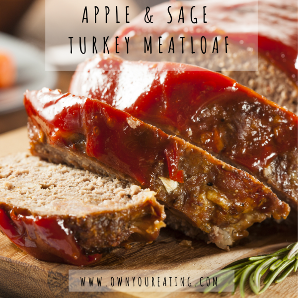 Apple & Sage Turkey Meatloaf [Recipe]