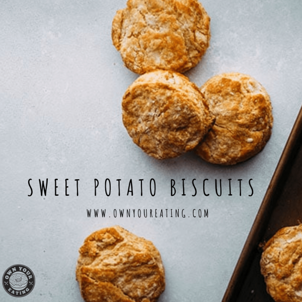 Holiday Spiced Sweet Potato Biscuit [Recipe]