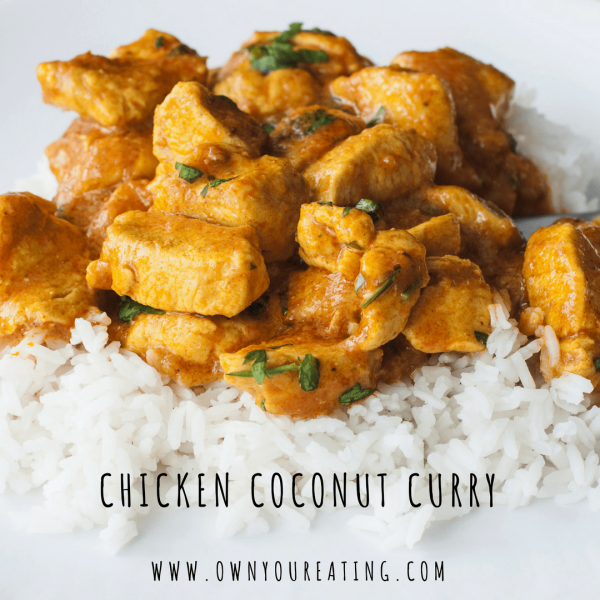 Low-fat Chicken Coconut Curry [Recipe]