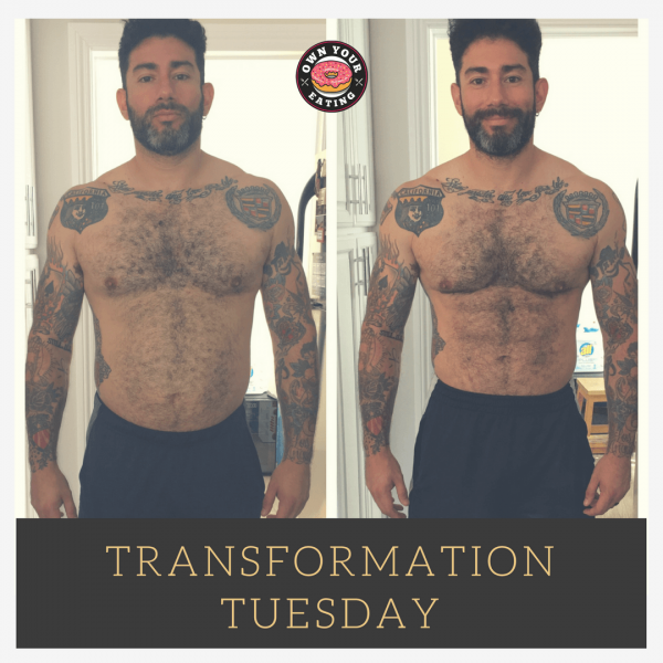 Transformation Tuesday – Luis Lopez