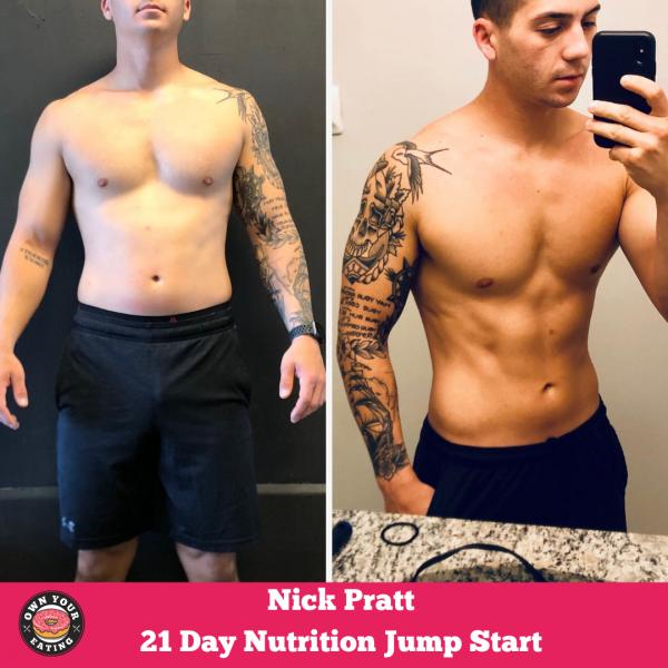 Nick Pratt – 21 Day Nutrition Jump Start