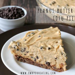 Peanut Butter Tofu Pie