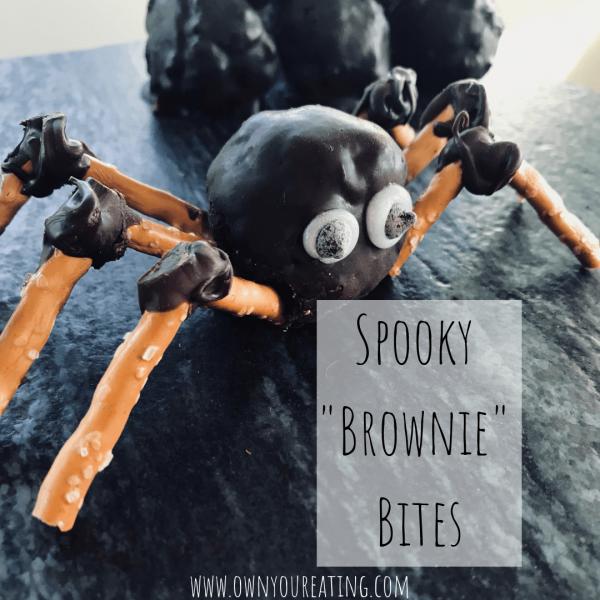 "Spooky ""Brownie"" Bites [Recipe]"