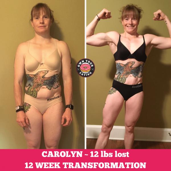 Carolyn Lawson – 12 Week Progress