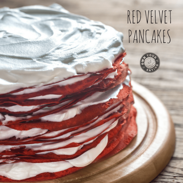 Red Velvet Pancakes [Recipe]