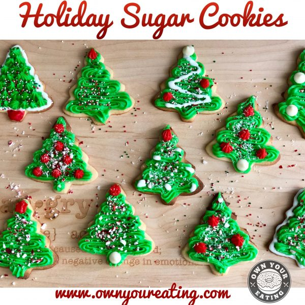 Holiday Sugar Cookies [Recipe]