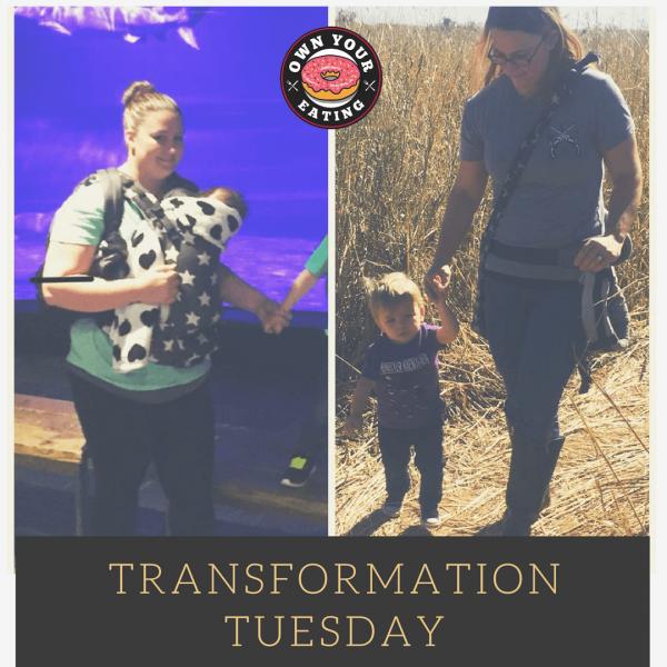 Transformation Tuesday – Sarah Dodson