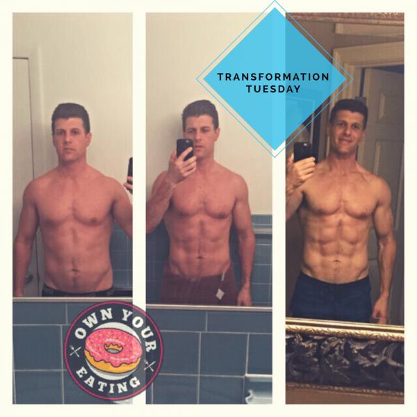 Transformation Tuesday – Keith Genco