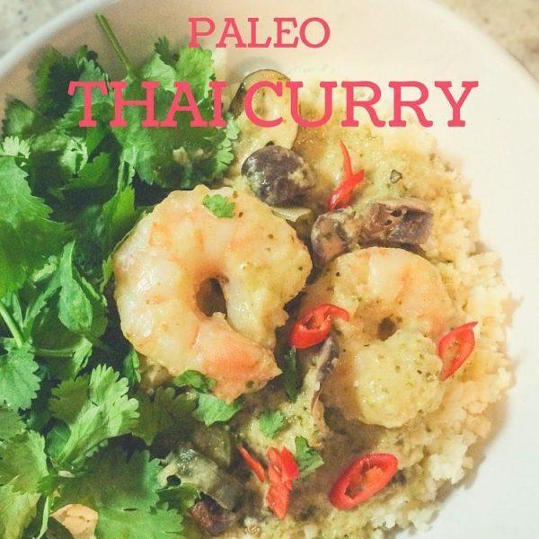 Thai Green Curry & Cauliflower Rice [Recipe]