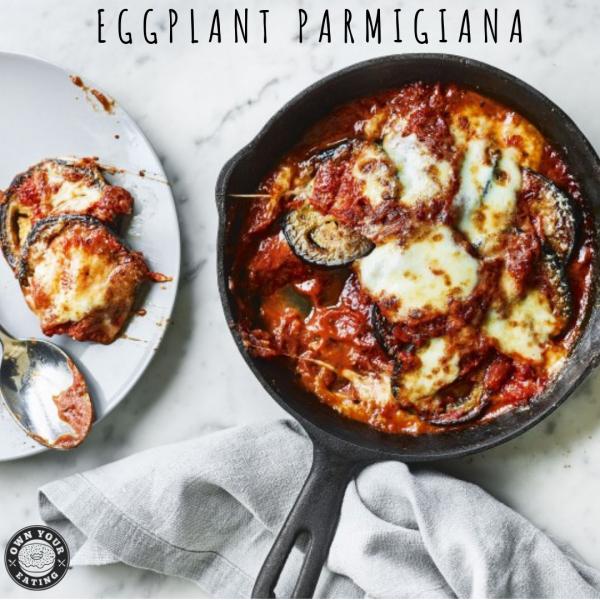 Eggplant Parmigiana [Recipe]