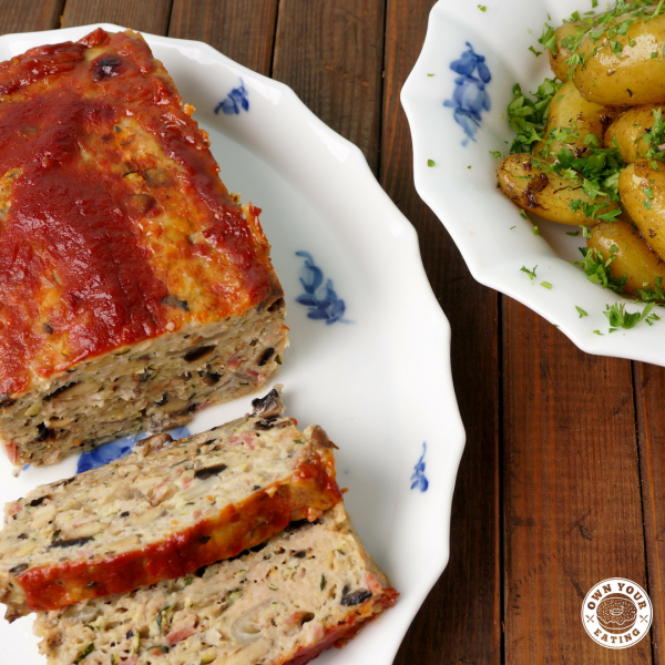 Macro-friendly Meatloaf | One Pot Meal [Recipe]