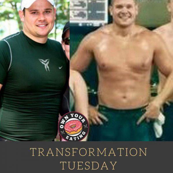 Transformation Tuesday – Justin Haydock