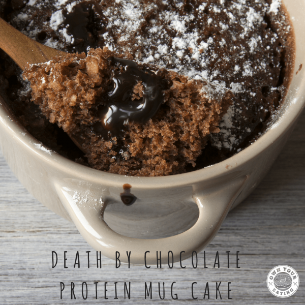 Death by Chocolate Protein Mug Cake [Recipe]