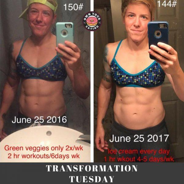 Transformation Tuesday – Vanessa Holste