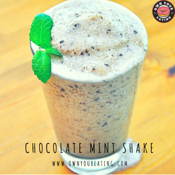 Chocolate Mint Shake [Recipe]