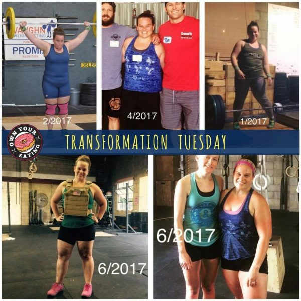 Transformation Tuesday – Molly Pearson
