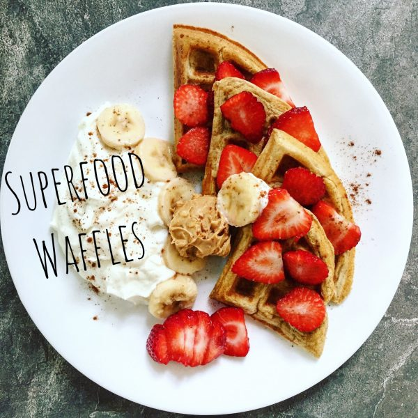 Superfood Waffles [Recipe]