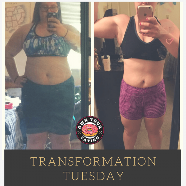 Transformation Tuesday – Nicole Pottinger