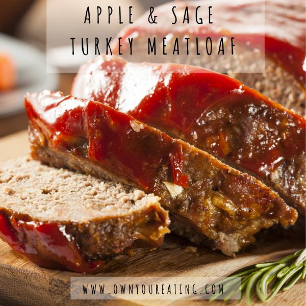 Apple & Sage Turkey Meatloaf [Recipe]