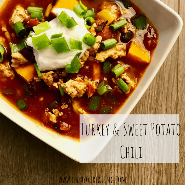 Turkey & Sweet Potato Chili [Recipe]