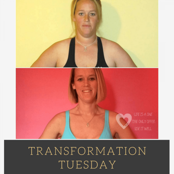Transformation Tuesday – Amanda Benson Grieve
