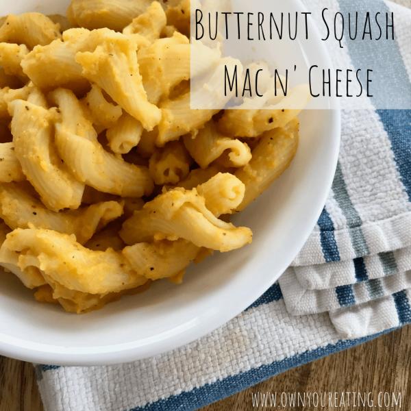 Butternut Squash Mac n' Cheese [Recipe]