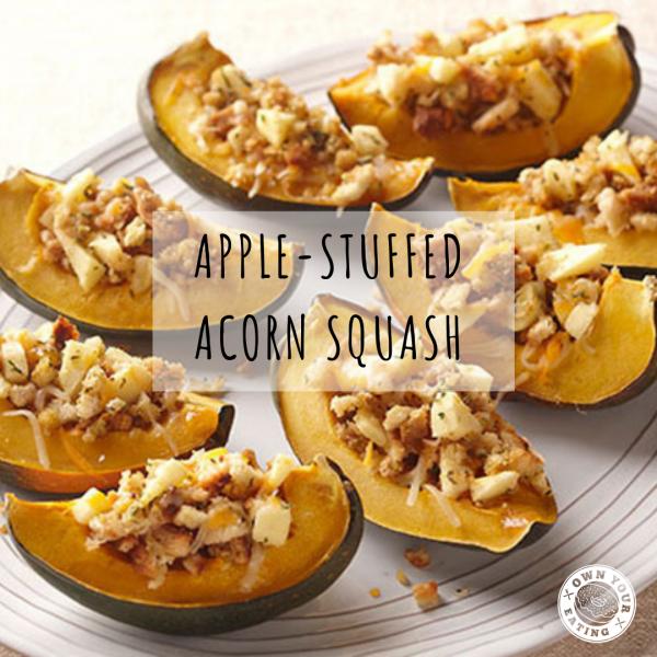 Apple-Stuffed Acorn Squash [Recipe]