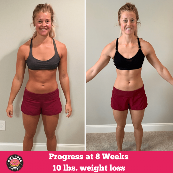 Abby's 8 Week Progress