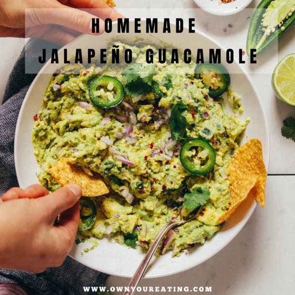 Homemade Jalapeño Guacamole [Recipe]
