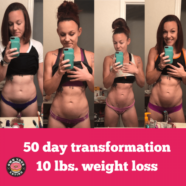 How to lose 10 lbs. body fat – Staci M's Transformation