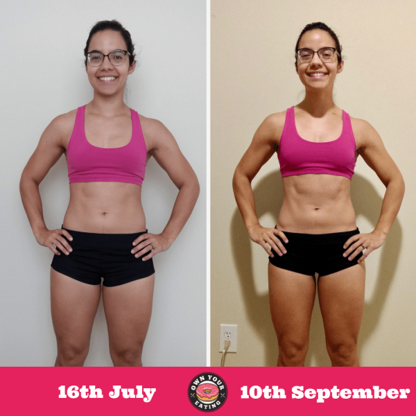 Patty Galicki – 2 Month Progress