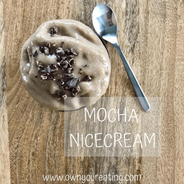 Mocha Nice Cream [Recipe]