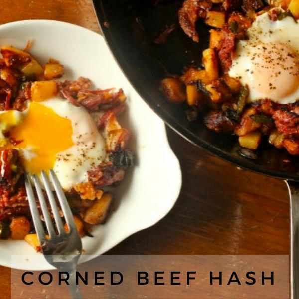 Corned Beef Hash Brunch [Recipe]