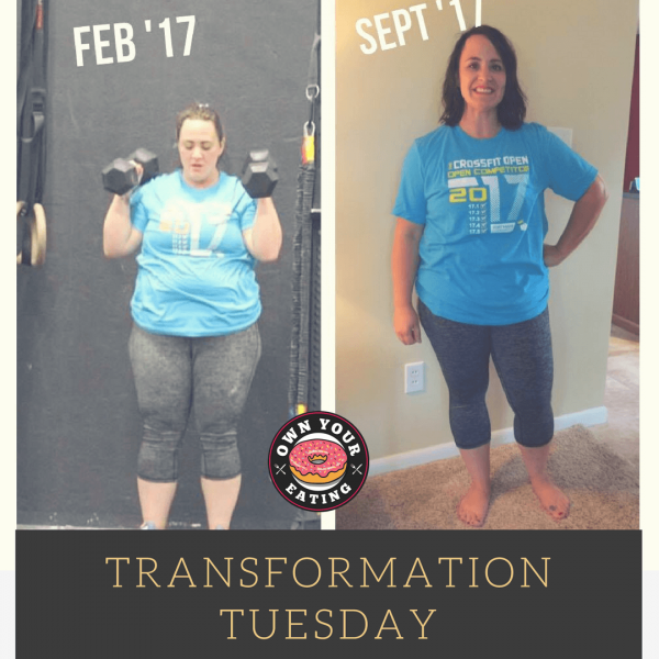 Transformation Tuesday – Misty Dahlke