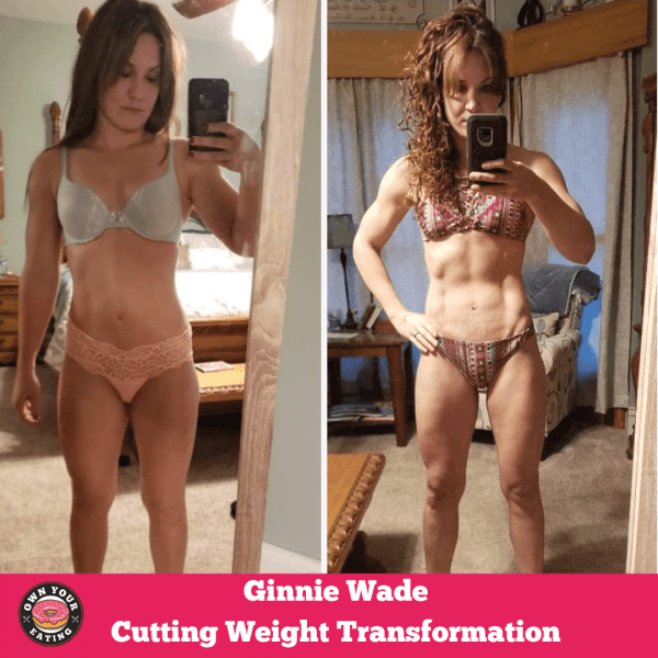 Ginnie Wade Cutting Weight Transformation