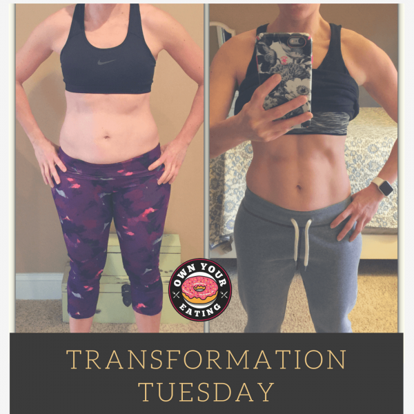 Transformation Tuesday – Melissa Russini
