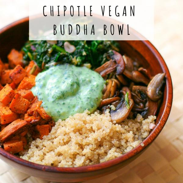 Chipotle Vegan Buddha Bowl [Recipe]