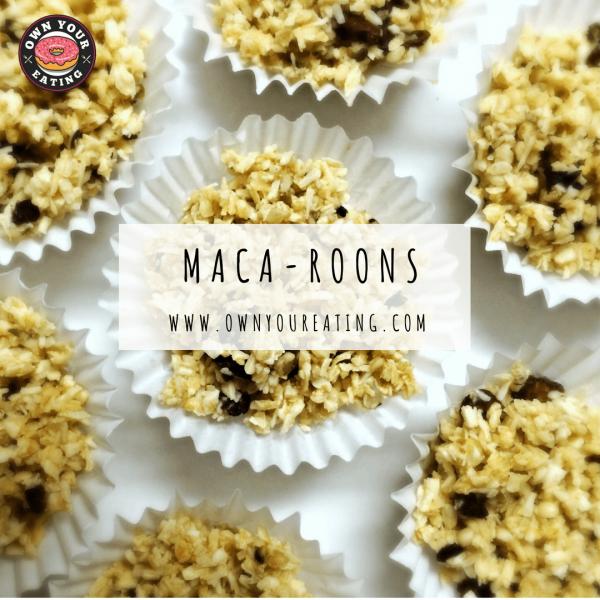 Maca-Roons   Guilt-Free Movie Snacks [Recipe]