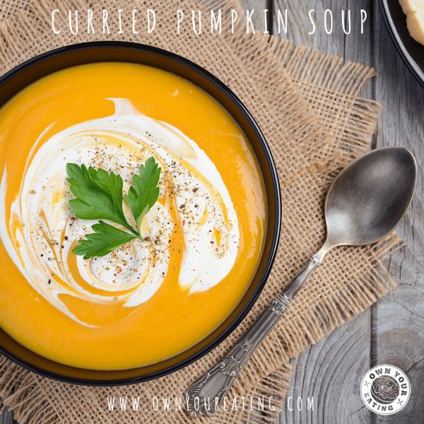 Curried Pumpkin Soup [Recipe]
