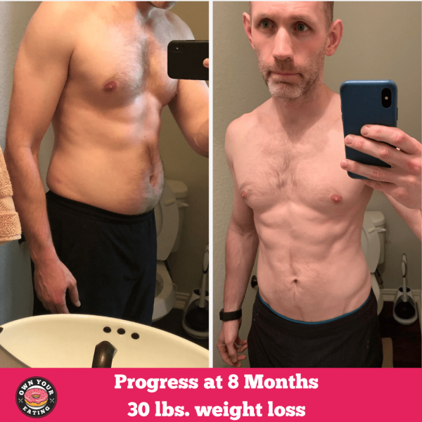 Ryan's 8 month Transformation